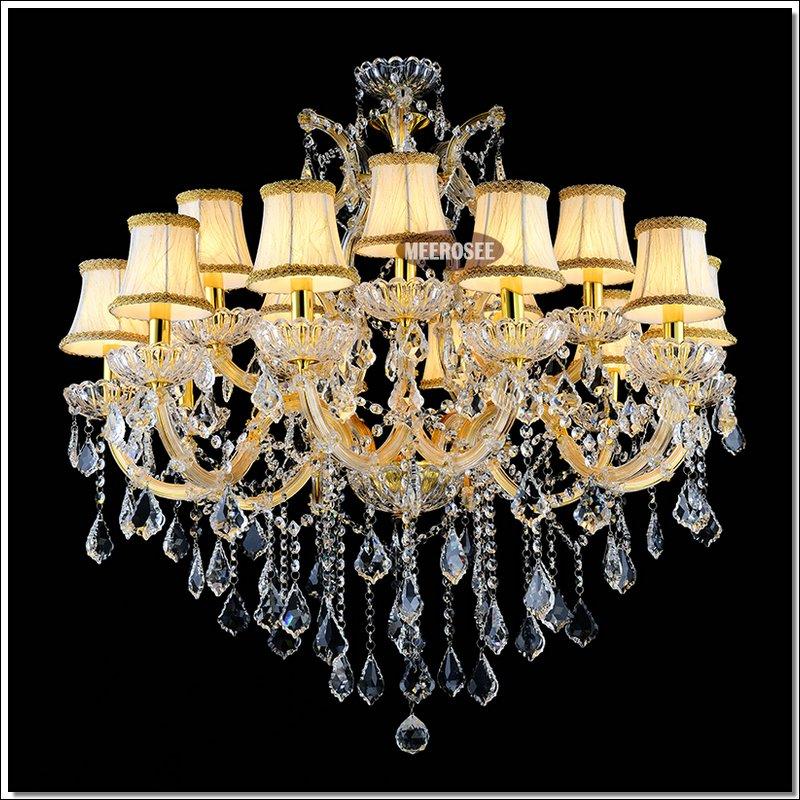 Gold Color Cristal Chandelier Lighting