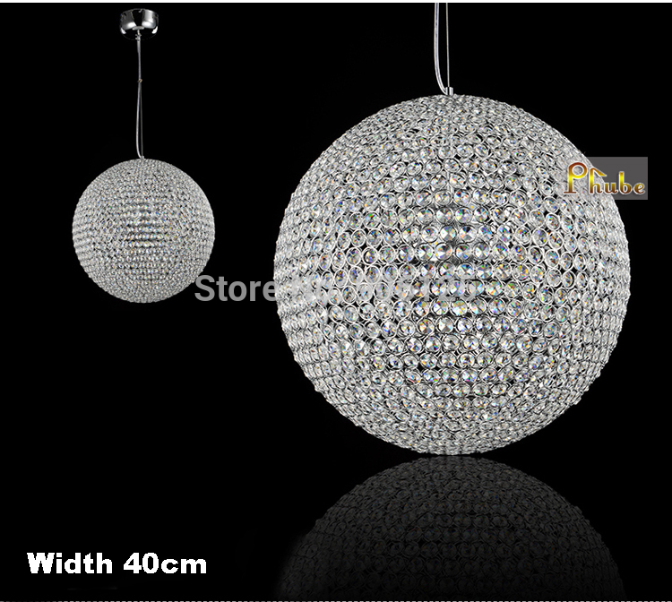 Ihausexpress modern crystal pendant light lamp gold chrome crystal categories bubble chair chandeliers and lighting products glass chandelier pendant lamp aloadofball Choice Image
