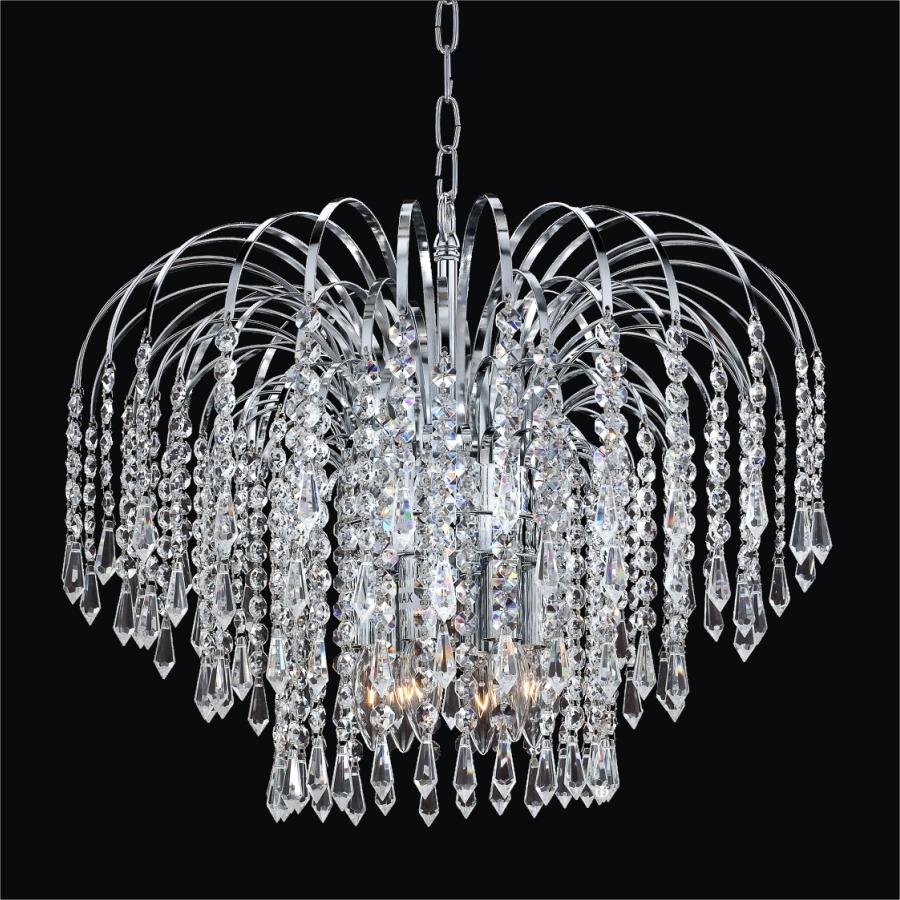 Ihausexpress crystal rain chandelier jaa77079 crystal rain chandelier jaa77079 arubaitofo Image collections
