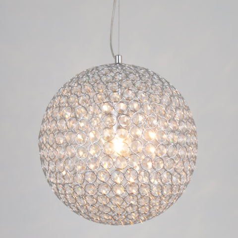 Ihausexpress contemporary k9 crystal ball pendant light contemporary k9 crystal ball pendant light mozeypictures Choice Image
