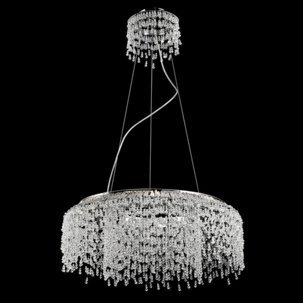 iHauseXpress | Wrought iron modern chandelier with k9 crystal ... for modern chandelier png  585hul