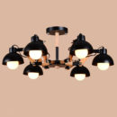 European Style Decorative Wooden Chandelier