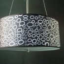Round indoor pendant light