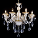 Classic Egyptian designed big crystal chandelier