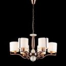 Luxury iron retro industrial chandelier