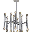 Modern design metal tube pendant light