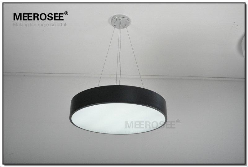 Modern LED Pendant Black Acrylic Chandelier